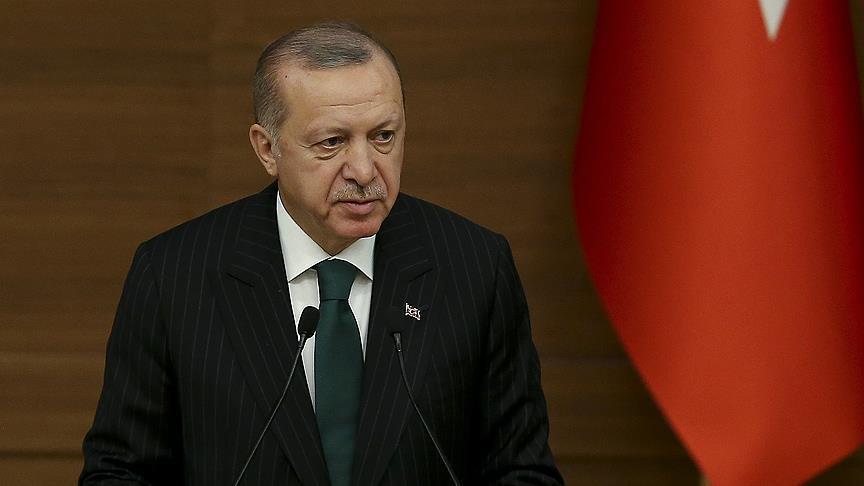 أردوغان: تفجير منبج أودى بحياة 20 شخصا وهدفه التأثير على قرار ترامب