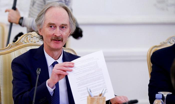 بيدرسن يؤكد على تطبيق القرار 2254 لضمان عودة اللاجئين السوريين