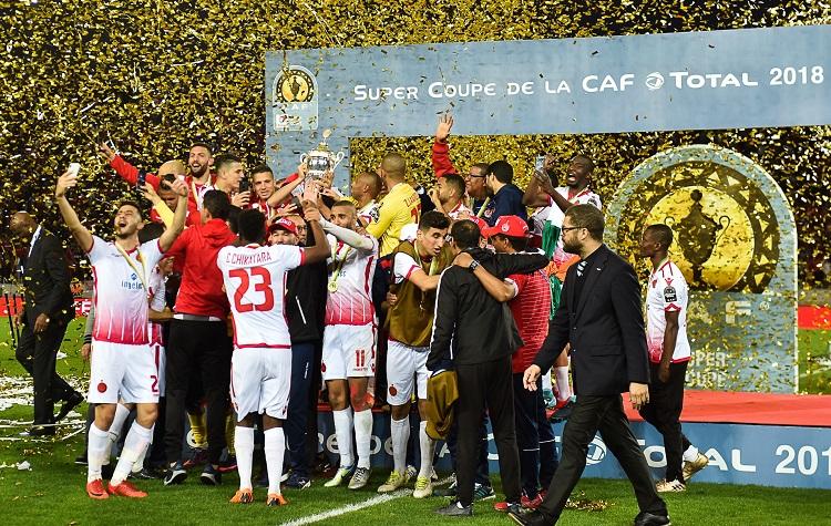 الوداد البيضاوي يحرز لقب كأس السوبر الافريقية لأول مرة