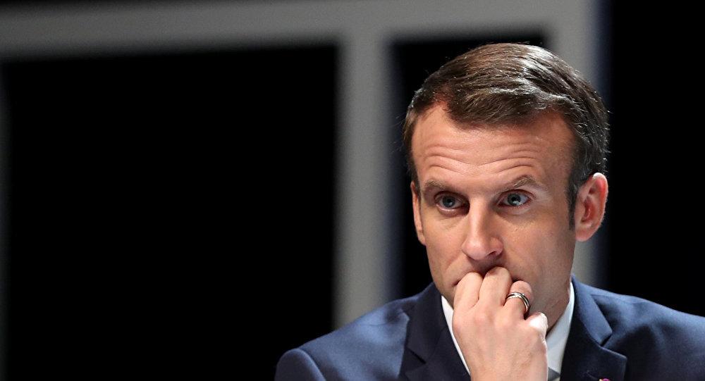 فرنسا.. ماكرون يلتقي مسؤولين الإثنين لبحث أزمة