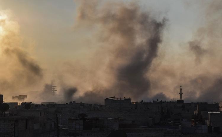 بعد ساعات من القرار الأممي.. النظام وحلفاؤه يشنون هجوما واسعا بهدف اقتحام الغوطة