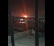 طائرات إيرانية تقصف شركة محروقات وتحرق أرضا زراعية