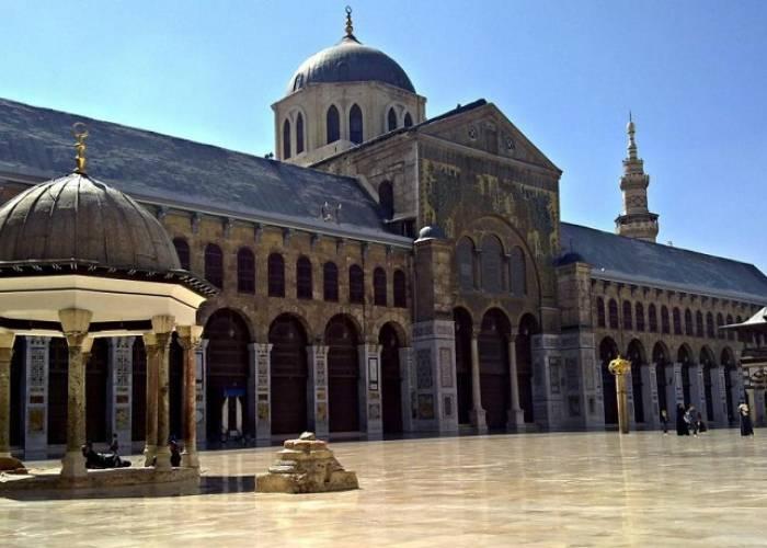 الجامع الأموي بدمشق تحفة معمارية تنطق بآيات الإبداع والجمال والسحر زمان الوصل