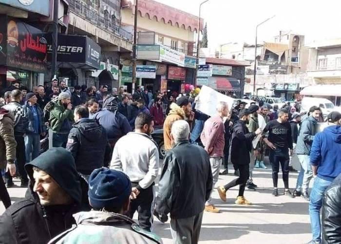 Image result for مظاهرات السويداء