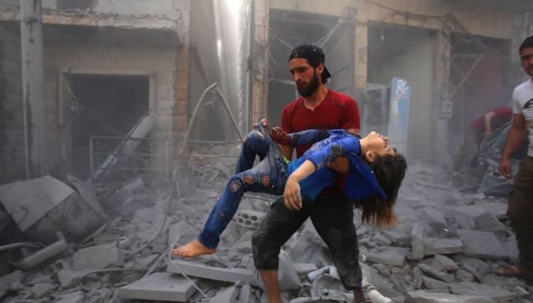 صور جوية.. المطارات والمهابط التي يستخدمها الأسد والروس في قصف الشمال المحرر