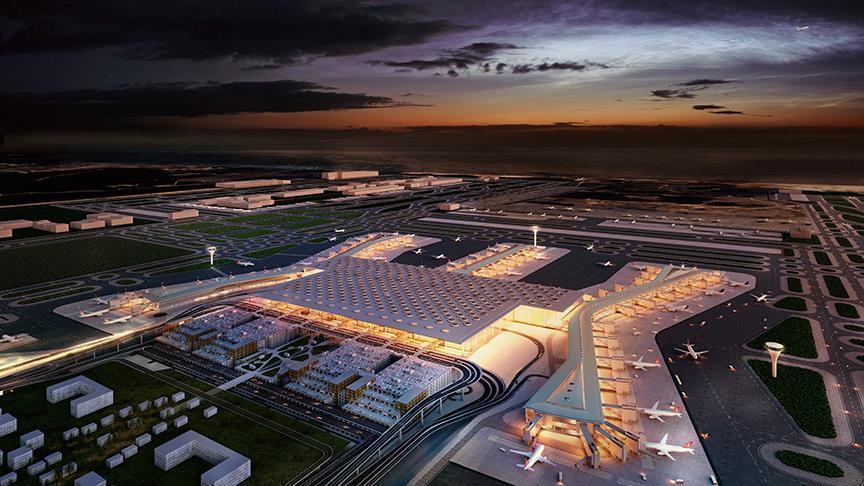 اسطنبول.. تواصل العمل في أضخم مطارات العالم استعدادا لاستقبال 110 ملايين مسافر سنويا